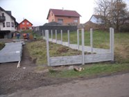 Betonové ploty cena montáže